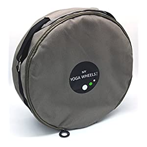 "MyYogaWheels Yoga Wheel Bag Carry Case with Shoulder Strap Fits All 13"" Dharma Wheels"
