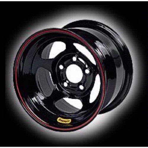 Bassett 15  X 8   5 On 4 75   3 Off Imca Beadlock Black Wheel 58Dc3il