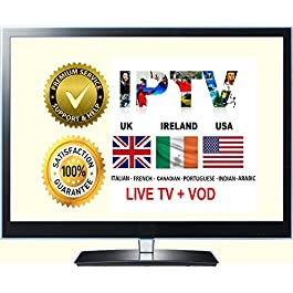 USA UK IPTV Subscription For MAG / Android /IOS / Smart TV /Firestick 6 Months