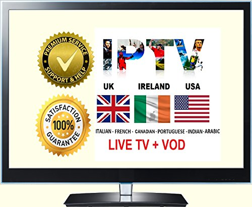 USA UK IPTV Subscription For MAG / Android /IOS / Smart TV /Firestick 12  Months
