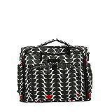 Ju-Ju-Be Onyx Collection B.F.F. Convertible Diaper Bag, Black Widow
