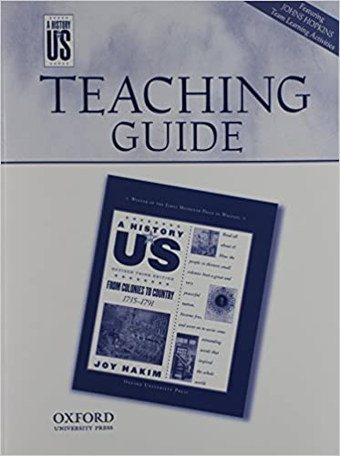 Amazon.com: Teaching Guide from Colonies to Country: Middle/High ...