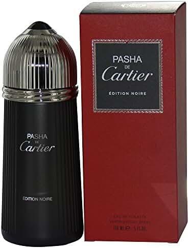 PASHA DE CARTIER EDITION NOIRE by Cartier EDT SPRAY 5 OZ for MEN ---(Package Of 3)