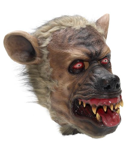 Hyena Costumes (Hyena Latex Mask)