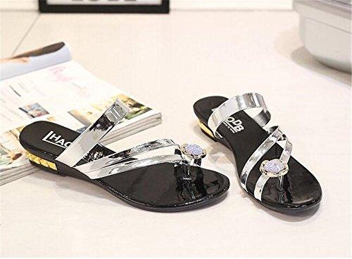 Women Queena Flops Wheeler Beach Flip Shoes Lips Sandals Platform Thick Women Soled Lovely Slippers Summer Sliver Prfn6B