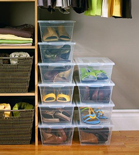 kis clear shoe boxes