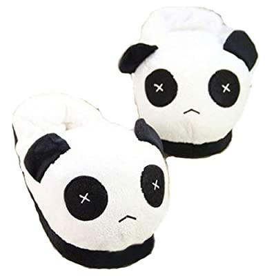 Cute Panda Warm Plush Indoor Home Slippers Shoes
