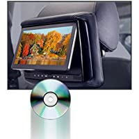 Concept RSD-905 Chameleon 9 DVD/LCD with 3 Color Covers Active Head Restraint