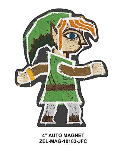 The Legend of Zelda OFFICIAL Link Fridge Magnet