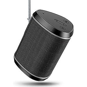Cocoda Enceinte Bluetooth Portable, Mini Haut Parleur Sans Fil avec Sonore Stéréo, Basses Puissantes, Technologie TWS, Portée Bluetooth 18M, Support AUX/Carte TF, Étanche IPX6 Enceintes pour Extérieur 2