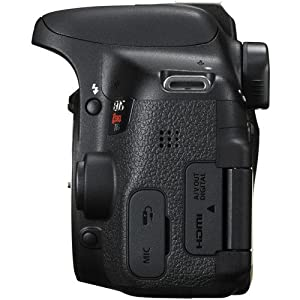 Canon T6i Digital SLR Body Only (No Lens) - Wi-Fi Enabled(Black) with Free SanDisk Ultra 64GB SDHC Class 10 Card