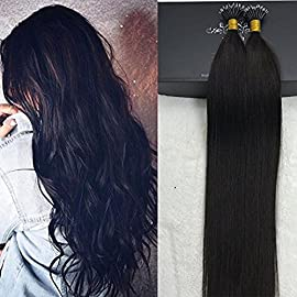 Full Shine 16″ 40g 50Strands Per Package Cheust Brown Hair Extensions Color #6 Keratin Extensions Tip Hair With Nano Beads Human Hair Remy Cold Fushion Hair Extensions