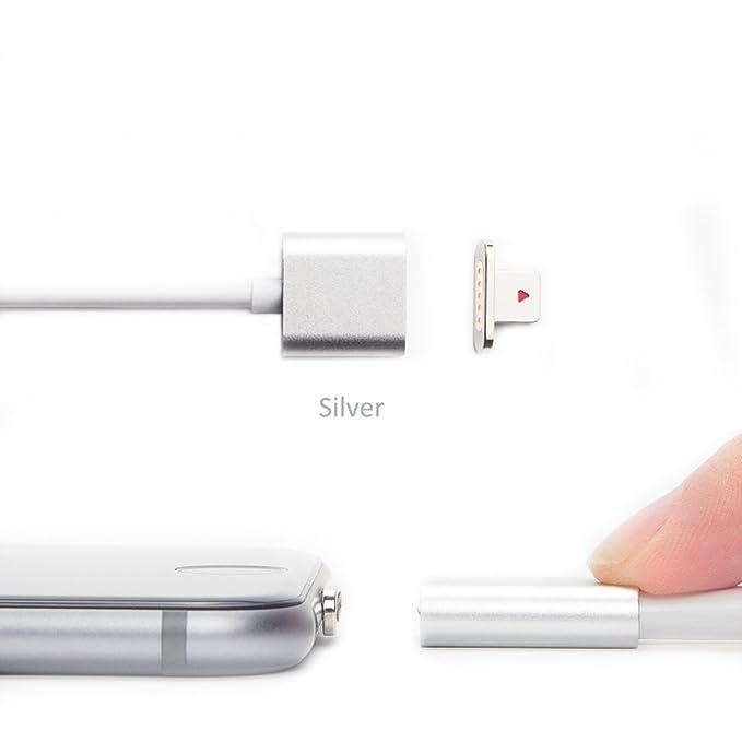 netdot Cargador magnético conversor y adaptador para iPhone 6S ...