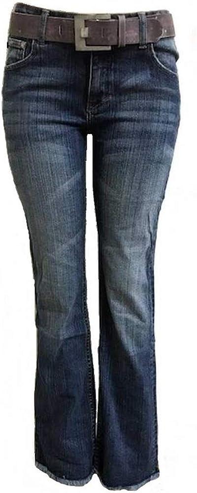 Amazon Com Y O Y O Pantalones Vaqueros Clasicos De Corte De Bota Para Mujer De Talla Media 5 Clothing