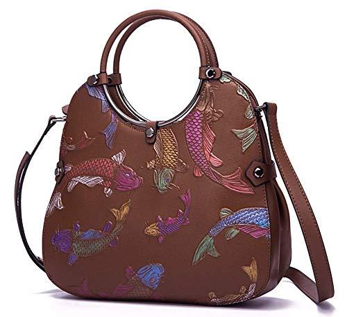 Willsego Hombro Tamaño color B D Mujer Bolso Para De 29x22x10cm nw8qr8HxCg