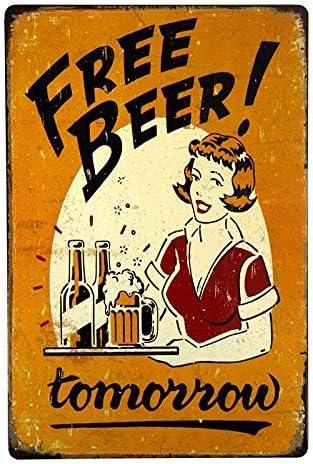 Modelo Beer Bar Pub Rustic Retro Tin Metal Sign
