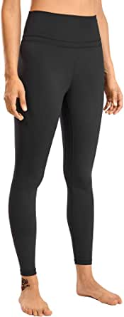 TAKIYA Women's High Waist Yoga Pants Workout Leggings Tummy Control Seamless Stretch Solid Gym Running Leggings