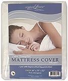 BED BUG/Allergen ~ Waterproof Zippered Vinyl Mattress Cover PROTECTOR Defender TWIN Size