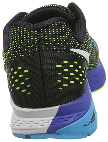 Nike Men's Air Zoom Structure 19 Competition Running Shoes Multicolor (Black/Volt/Blue Lagoon/White) CquqCi