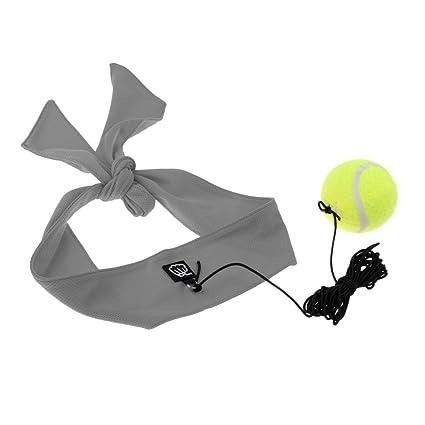Baoblaze 1 Pieza de Pelota Bola de Entrenamiento de Velocidad con Cinta de Cabeza + Cuerda