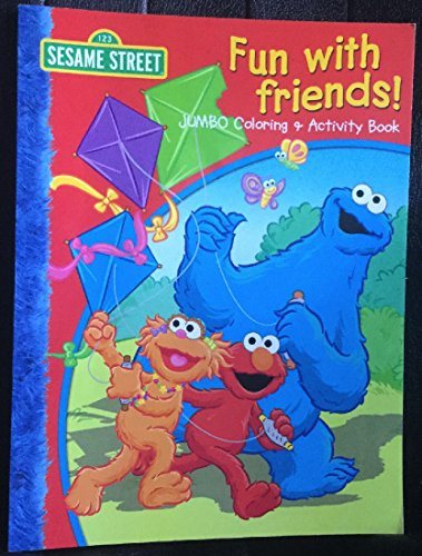 Sesame Street Fun with Friends Jumbo Coloring and Activity Book]()