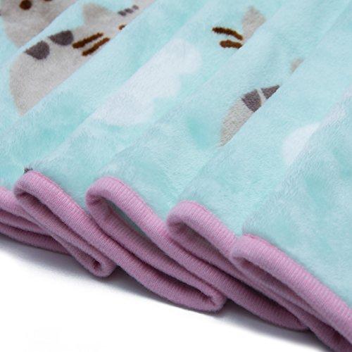 Pusheen The Cat Soft Fleece Blanket Officially Licensed Pusheen Magnificent Pusheen Purrfect Weekend Throw Blanket