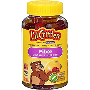 Amazon Com L Il Critters Kids Fiber Gummy Bears
