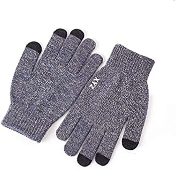 Zippem Winter Thick Warm Cold Weather Knitted Touch Screen Gloves