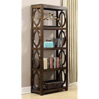 Coaster 801213 Home Furnishings Bookcase, Chestnut