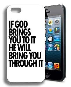 Religious Christian Cute Quote Iphone 4 Case