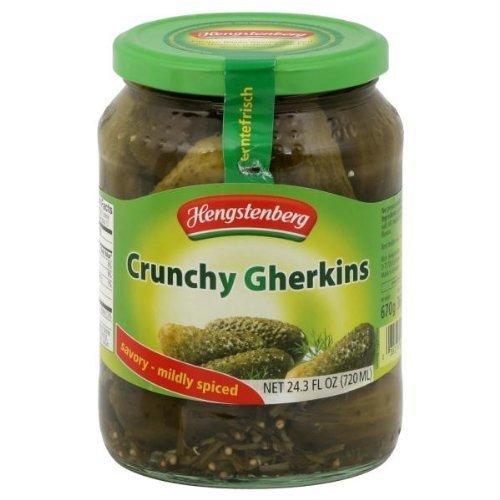 Crunchy Gherkins, German Pickles (Hengst.) 24.3oz