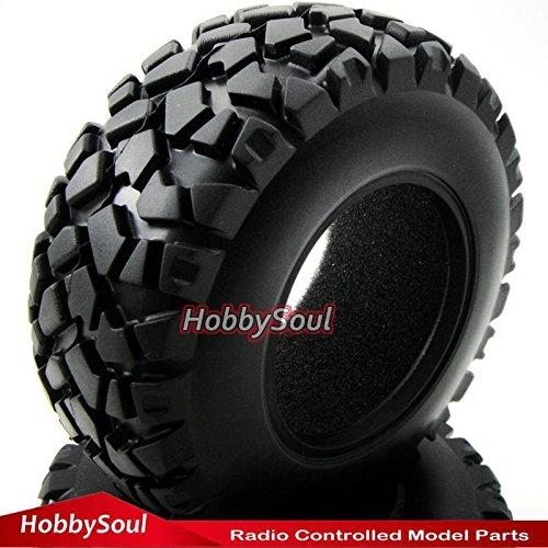 4pcs RC 1/10 short course tires Fit Traxxas Slash Pro-Lin...