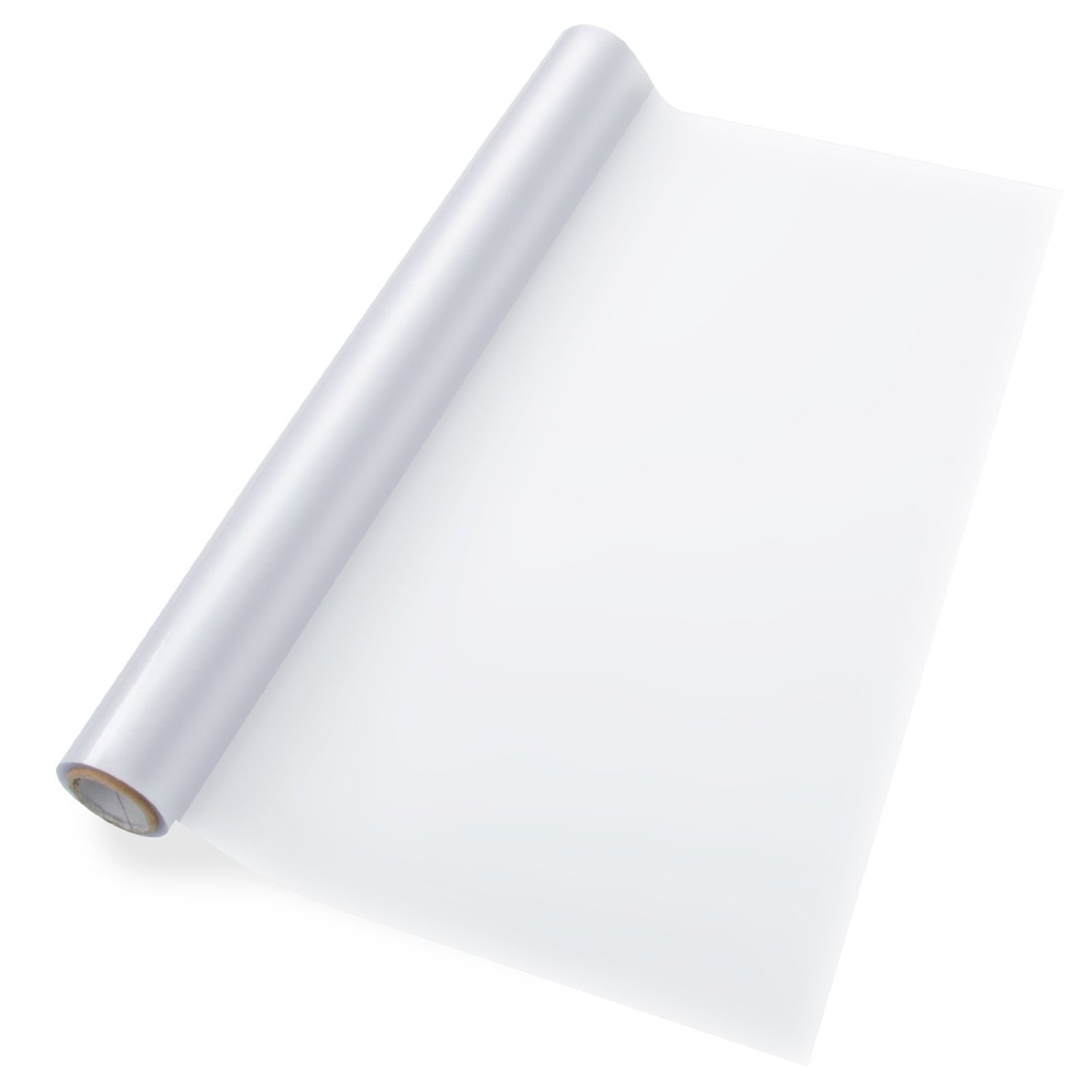 casa pura® Frosted, Static Window Cling Film (no adhesive) | Milk Glass Privacy Foil, 43 x 300 cm