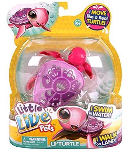 Little Live Pets - 31790 - S2 Tortue Single Pack - Shelly La Tortue Princess - Modelé Aléatoire - Violet BOTI 28198