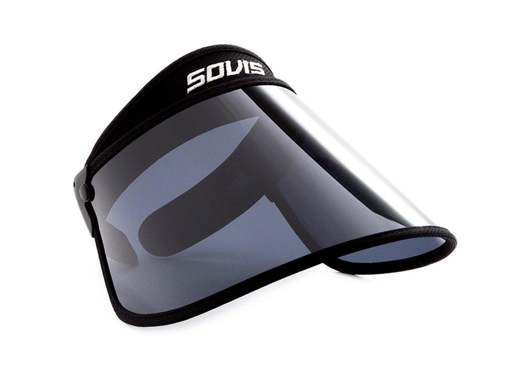 Sovis Oversized - 99%uvb/99%uva2 and 97%uva1 Sun Cap Solar Visor Hat Protection by SOVIS (Image #2)