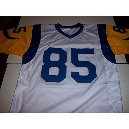 brand new b7629 93f3c Jack Youngblood FloridaLosangeles Rams HOF JSA Signed Jersey ...