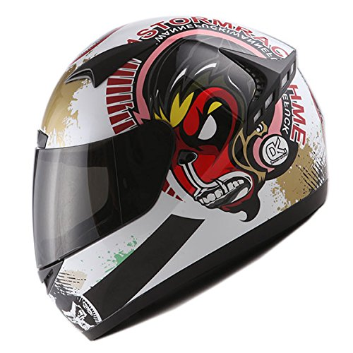 1STORM MOTORCYCLE FULL FACE HELMET Bike BOOSTER WUKONG MAD MONKEY
