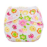 Koly® Newborn Baby Cloth Diaper Cover Adjustable Reusable Washable Nappy Non-Disposable Nappies (C)