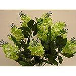 Green-Lilac-Bush-14-Artificial-Silk-Flowers-20-Bouquet-8227GN