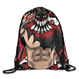 MDSHOP WWE Finn Balor The Wrestler Drawstring Backpack Sack Bag