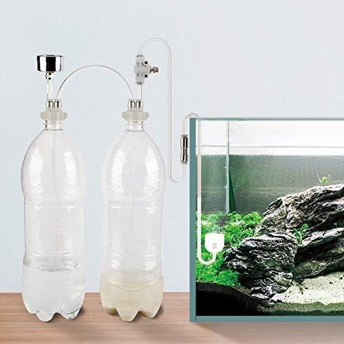 Amazon.com: Estink DIY CO2 Generator Aquarium Plant System Kit D201 Tube  Valve Guage Bottle Cap for Aquarium Moss Plant: Sports & Outdoors