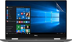 Celicious Vivid Invisible Glossy HD Screen Protector Film Compatible with Dell XPS 15 9575 [Pack of 2]