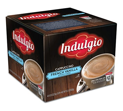 indulgio-french-vanilla-cappuccino-single-serve-k-cup-42-count-compatible-with-20-keurig-brewers-by-