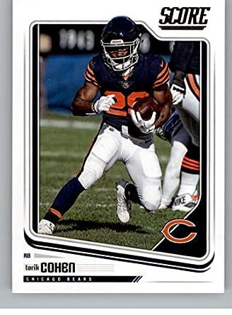 Amazon.com  2018 Score  56 Tarik Cohen Chicago Bears Football Card ... 351cb139a