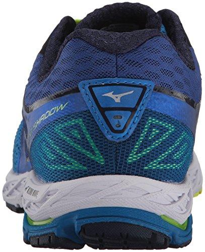 Mizuno MizunoMizuno Men's Wave Shadow Running Shoes, Wave Shadow, Scarpe da Corsa da Uomo da Uomo Directoire Blue/Safety Yellow/Blue Depths