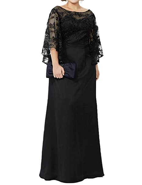 Mother of The Bride Dresses Plus Size Evening Gowns Lace ...