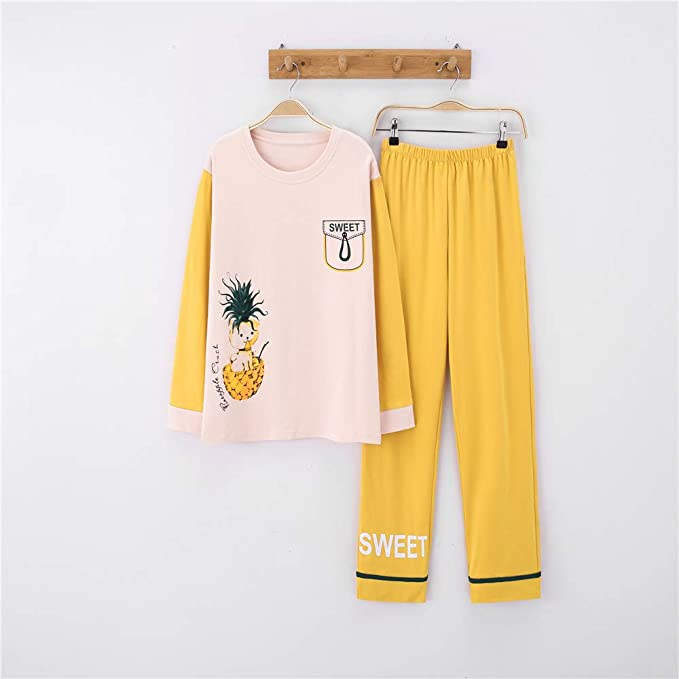 Pijamas Conjunto Camisetas Mangas Largas y Pantalones ...