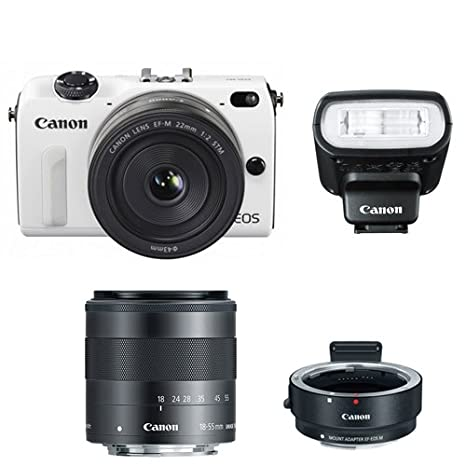 Review Canon EOS M2 Camera