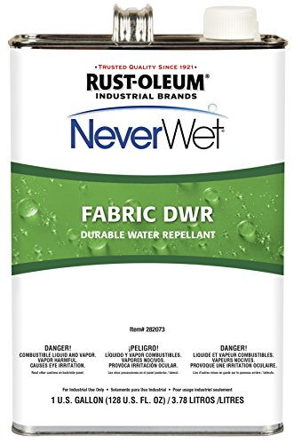 Rust-Oleum 282073 NeverWet Fabric Durable Water Repellant, 1-Gallon, Clear, 2-Pack