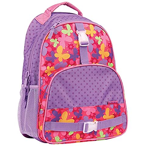 Stephen Joseph All Over Print Backpack, Butterfly (Backpack With Butterflies)